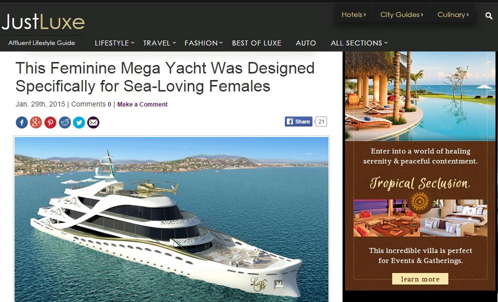 Luxury Interior Design Lidia Bersani Luxury Super Yacht